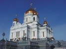 Christ the Savior Cathedral Moscow, Russia wallpaper
