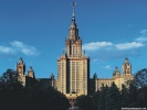 Moscow University Moscow, Russia wallpaper