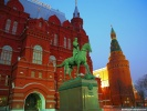 Marshall Zhukov Equestrian Statue Moscow, Russia wallpaper