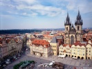 Old Town Square and Tyn Church Prague, Czech Republic wallpaper