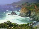 California Coastline USA wallpaper